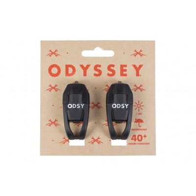 ODYSSEY LED BIKE LIGHTS (FR+RE) BLACK
