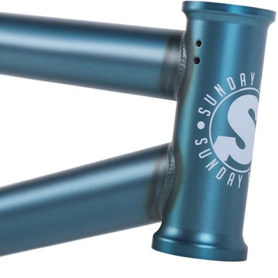 SUNDAY STREET SWEEPER SEMI MATTE TRANS TEAL FRAME