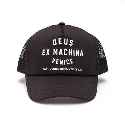 DEUS EX MACHINA Venice Address Trucker Hat - Legend Bikes