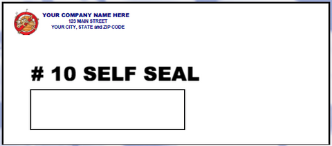 #10 Window Envelope - Self Seal