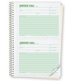#11 Service Call Books