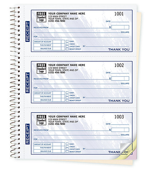 Receipt Books - Form 693