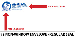 #9 Window Pest Envelope - Regular Seal