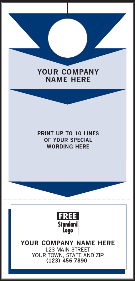 Door Hanger Dh86 American Business Forms Amp Envelopes