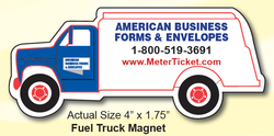 Fuel Truck Magnet - Small