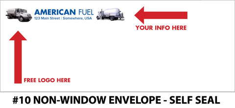 #10 Non-Window Fuel Envelope - Self Seal