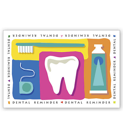 Laser Postcards, Dental Reminder