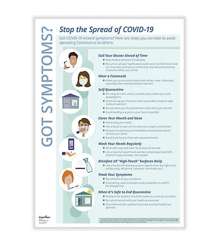 Stop COVID-19 Transmission Poster N0077