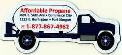 Propane Truck Magnet - Large