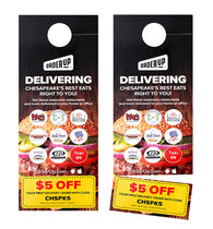 Door Hangers (Perforation Coupon)