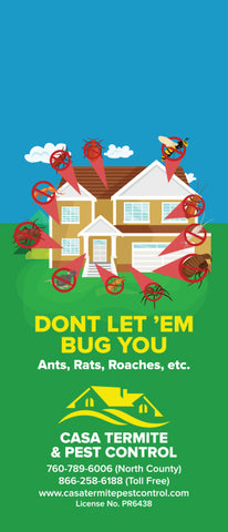 Pest Door Hanger - Full Color - Template #15 - Pests