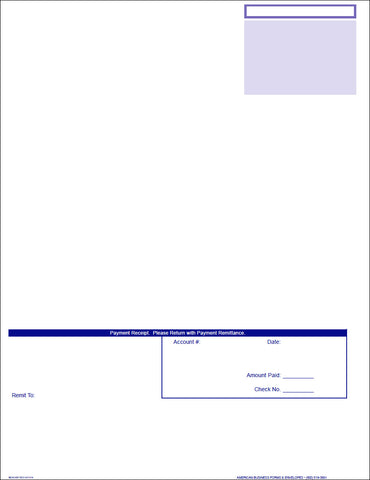 Work Wave Laser Invoice Statement Renewal - SAME DAY SHIP