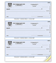 QuickBooks Checks (3 per page)