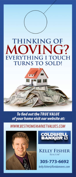 Real Estate Door Hangers - Template #004