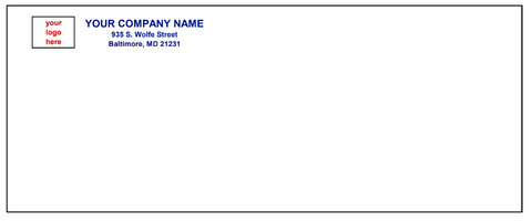 #10 Non-Window Envelope - Regular Seal