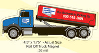 Roll Off Truck Magnet