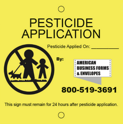 Custom Pesticide Cards