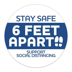 Stay Safe Stickers 593501