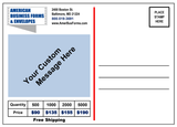 Back of card- Customize it for your Company