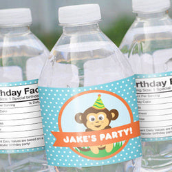 Water Bottle Label Sticker (1.25 x 8.5 in)