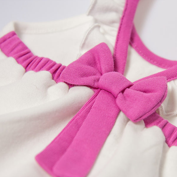 Balloon Ribbon & Ruffle Bodysuit