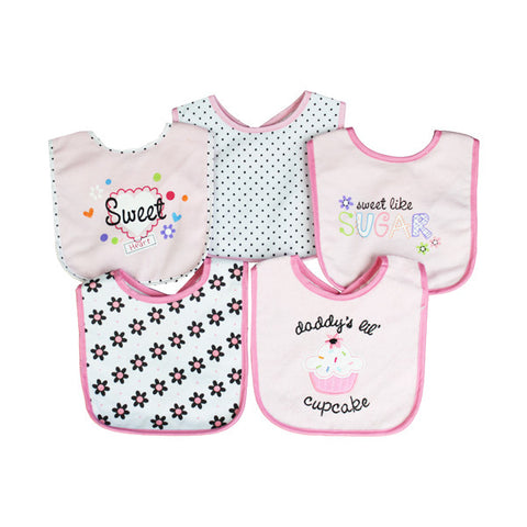 Lotus Maternity - This themed bibs, a Lotus Maternity exclusive, includes enough to keep your little critter mess-free for many mealtimes. These absorbent terry bibs close securely with a hook-and-loop fastener and come in a variety of designs.