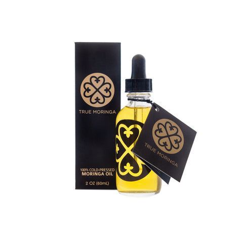 True Moringa All Purpose Body Oil (with Peppermint) - 60 mL