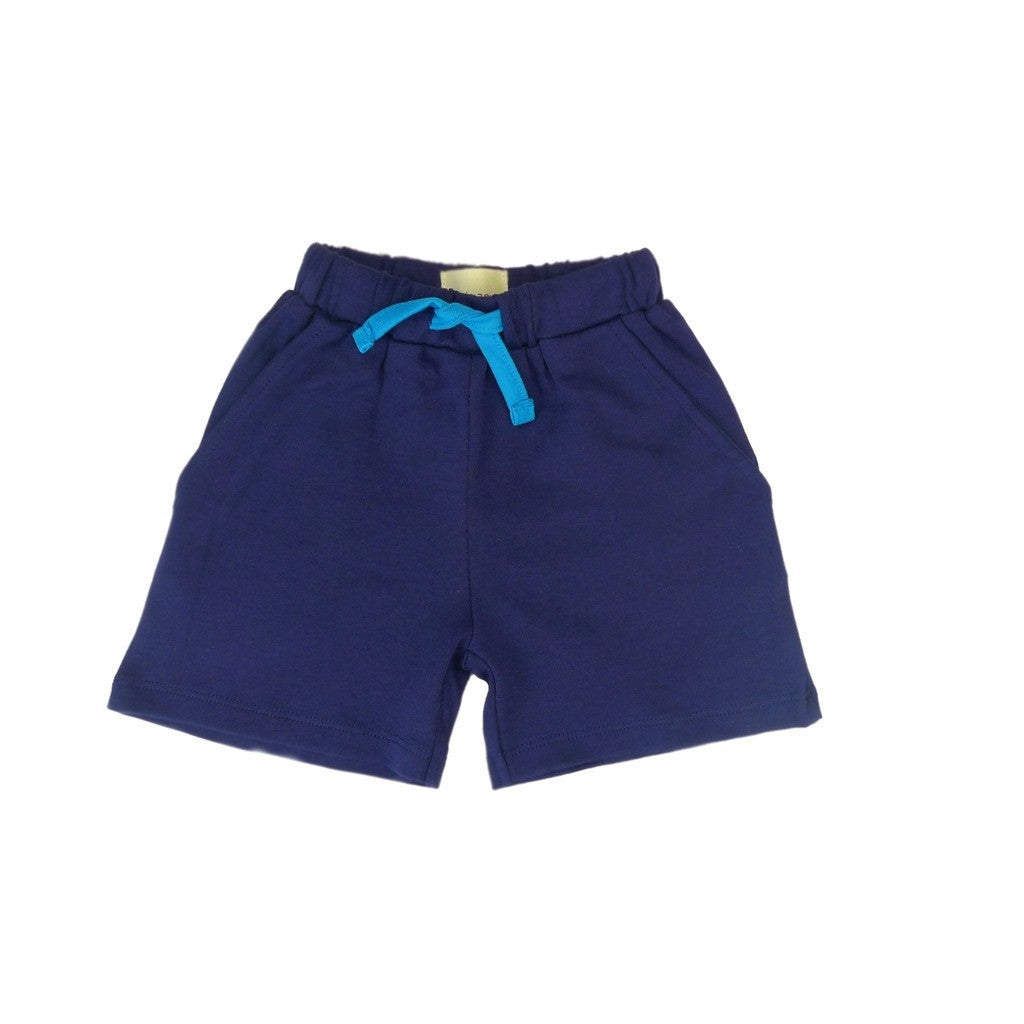 Organic Blue Boys Shorts
