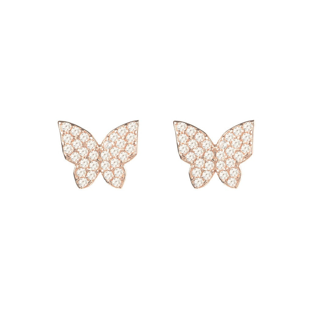 Closed Butterfly earring