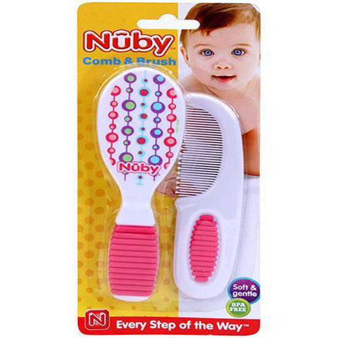 Comb & Brush Set - Nûby