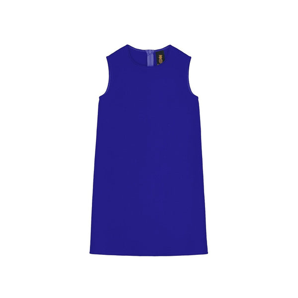 Royal Blue Sleeveless Trendy Evening Cute Party Mommy and Me Dresses
