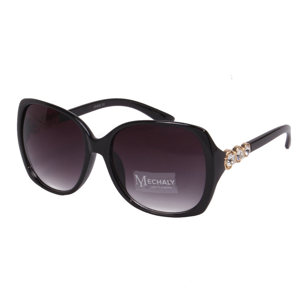 Mechaly Rectangle Style Black Sunglasses