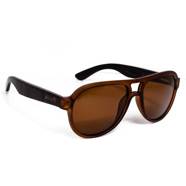 Sunglasses - Fighter Zebrawood