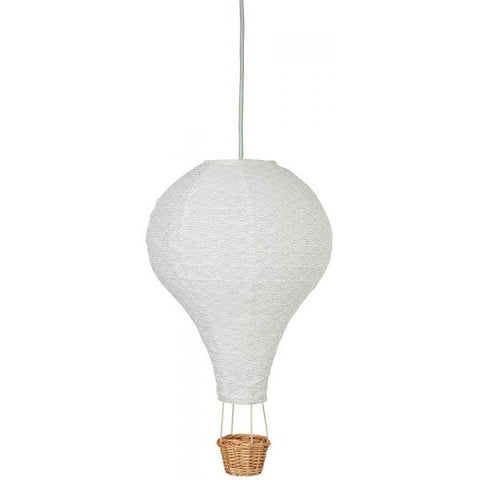 Cam Cam Grey Wave Hot Air Balloon Light, Lighting, Cam Cam Copenhagen, nursery, kids, babies, presents, gifts - Home & Me