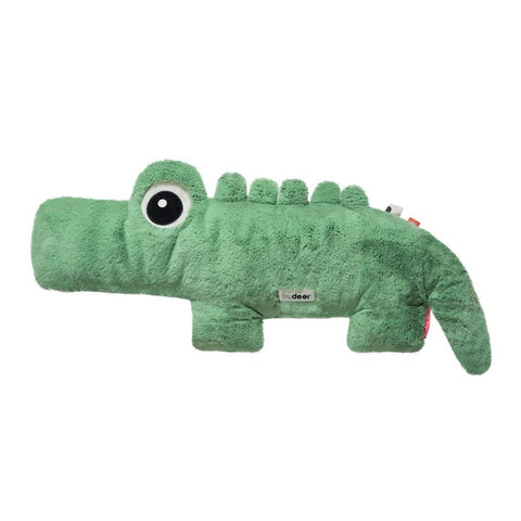 Done By Deer Green Croco Cuddle Teddy, Playtime, done by deer, nursery, kids, babies, presents, gifts - Home & Me