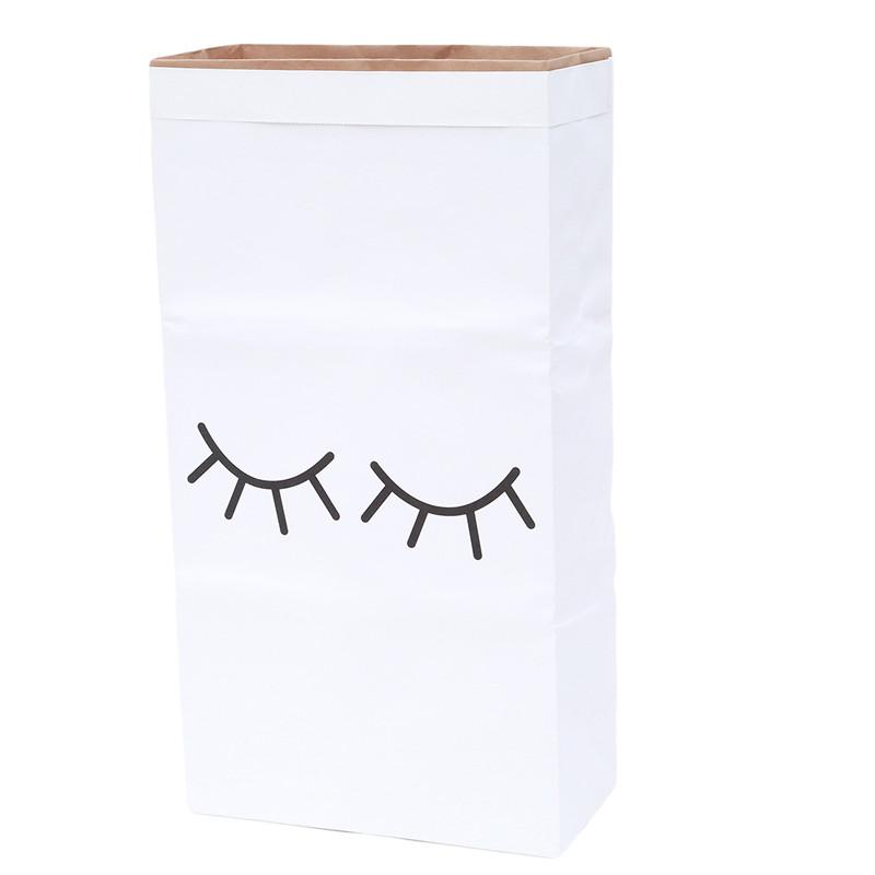 Home & Me Eyelash Kraft Storage Bag, Storage, Home & Me, nursery, kids, babies, presents, gifts - Home & Me