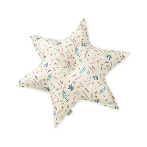 Cam Cam Star Cushion - Pressed Leaves, Furnishing, Cam Cam Copenhagen, nursery, kids, babies, presents, gifts - Home & Me