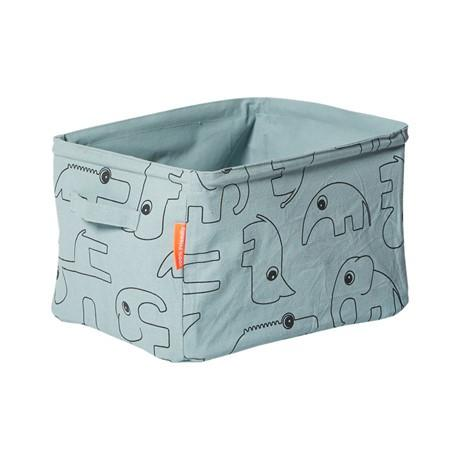 Blue Soft Storage Basket [Pre Order], Storage, done by deer, nursery, kids, babies, presents, gifts - Home & Me