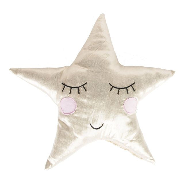 Sass & Belle Shiny Star Cushion, Soft Furnishing, Sass & Belle, nursery, kids, babies, presents, gifts - Home & Me