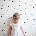 PÖM le Bonhomme Black Star Wall Stickers, Wall Decor, PÖM le Bonhomme, nursery, kids, babies, presents, gifts - Home & Me