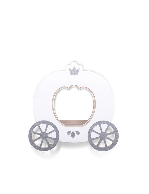 White Cinderella Carriage Shelf, Furnishing, That's Mine, nursery, kids, babies, presents, gifts - Home & Me