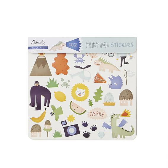 Olli Ella Playpa Sticker - Jungle, , Olli Ella, nursery, kids, babies, presents, gifts - Home & Me