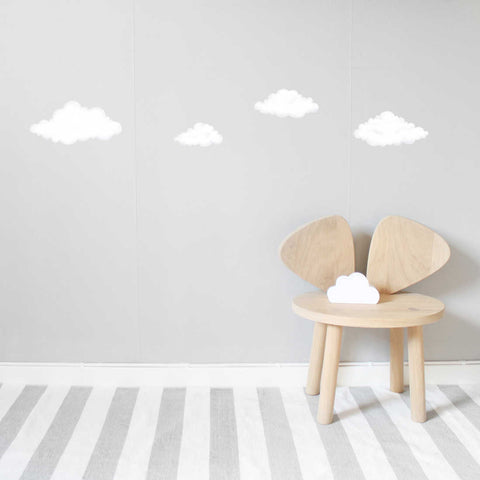 Stickstay White Cloud Wall Stickers, Wall Decor, Stickstay, nursery, kids, babies, presents, gifts - Home & Me