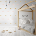 PÖM le Bonhomme Gold and Pink Cloud Wall Stickers, Wall Decor, PÖM le Bonhomme, nursery, kids, babies, presents, gifts - Home & Me
