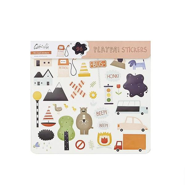 Olli Ella Playpa Sticker - Road, , Olli Ella, nursery, kids, babies, presents, gifts - Home & Me