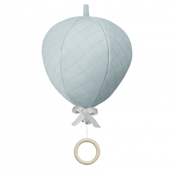 Cam Cam Mint Balloon Musical Mobile, Furnishing, Cam Cam Copenhagen, nursery, kids, babies, presents, gifts - Home & Me