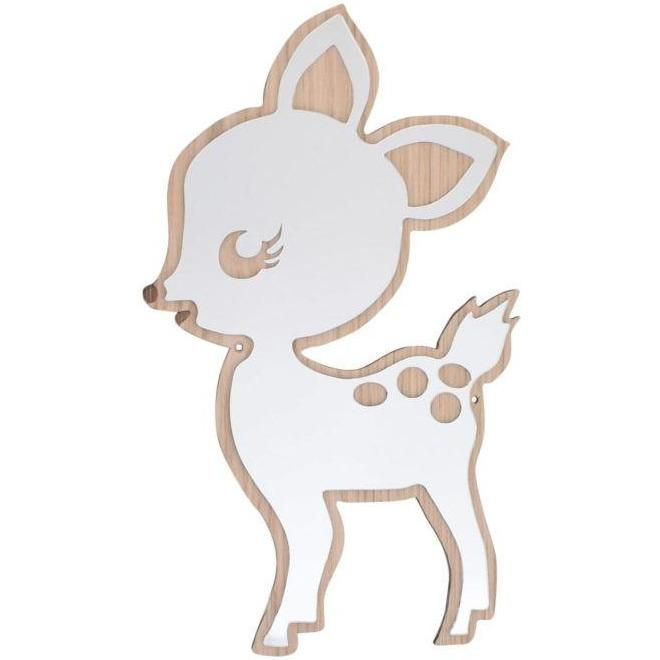 Mase Living Bambi Mirror, Mirror, Mase Living, nursery, kids, babies, presents, gifts - Home & Me