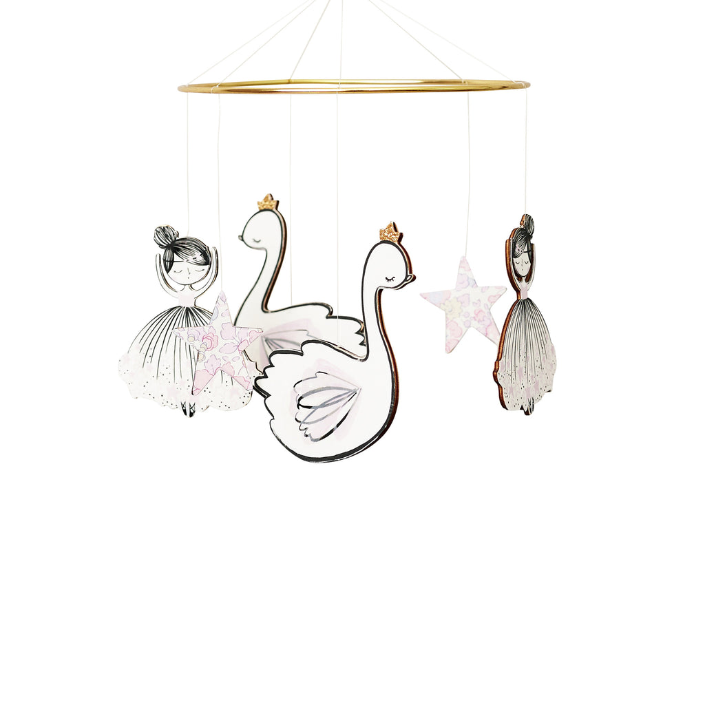 La Vie En Rose Cot Mobile, Furniture, Little Cloud, nursery, kids, babies, presents, gifts - Home & Me