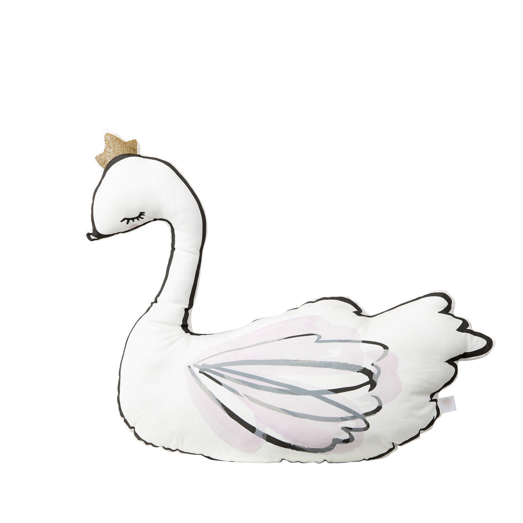 Little Cloud Swan Cushion, Soft Furnishing, Little Cloud, nursery, kids, babies, presents, gifts - Home & Me