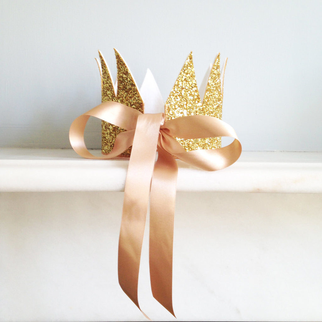 Sparkle Child - Crown (Gold), , Sparkle Child, nursery, kids, babies, presents, gifts - Home & Me